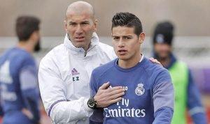 James Tidak Pernah Masuk Dalam Rencana Zinedin Zidane