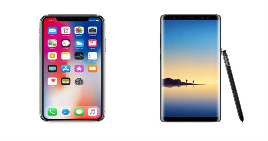 Detailed Comparison between iPhone X and Galaxy Note 8
