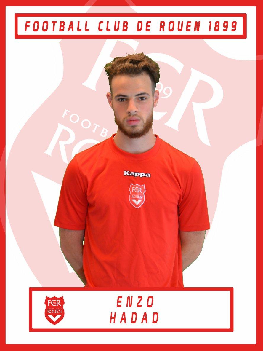 FCR - Le FCR compte sur ses Diablotins : Enzo Hadad