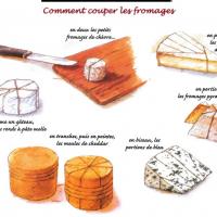 Comment bien couper le fromage