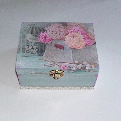 Boîte à bijoux fleur