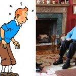 Moulinsart attaque en justice Albert II de Belgique pour s'être déguisé en Tintin. - Nordpresse - Infos Belgique