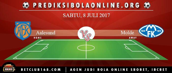 Prediksi Aalesund Vs Molde 8 Juli 2017