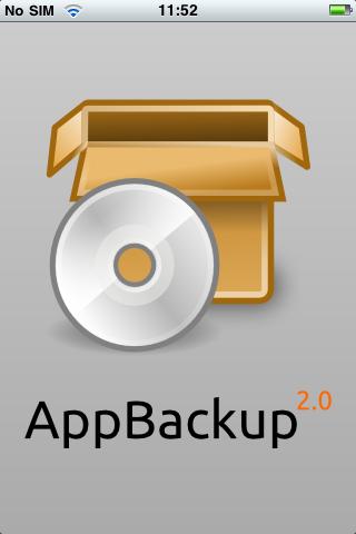 Un utilitaire bien pratique : AppBackup :)