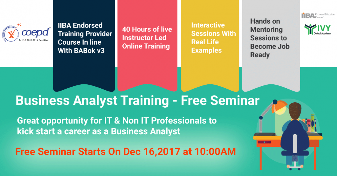 Business Analyst Training in Pune - COEPD