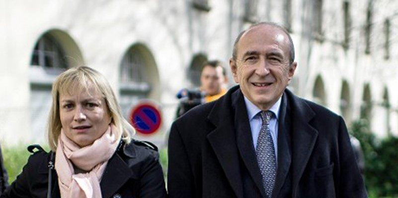 Gérard Collomb : qui est sa femme,  29 ans de différence d'âge ! ... Rougé ? | Planet