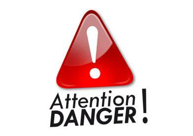 Attention danger - Diable Vert