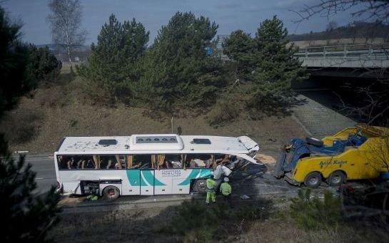 Accident de car près de Prague : une collégienne rémoise tuée, 41 blessés