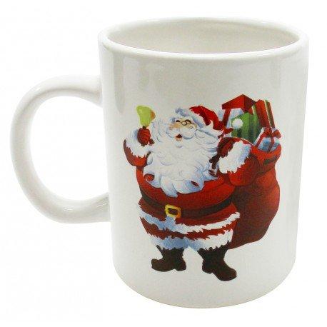 Mug Joyeux Noël avec Père Noël x4 : achat Mug Père Noël cadeau Noël