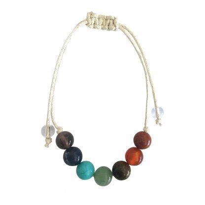 Cercle Sept Chakras (7 perles) Magie des Bijoux