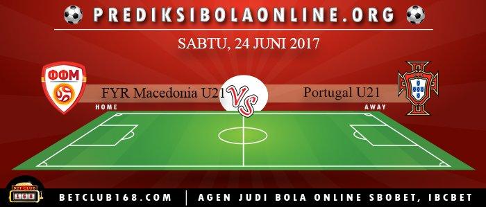 Prediksi FYR Macedonia U21 Vs Portugal U21 24 Juni 2017