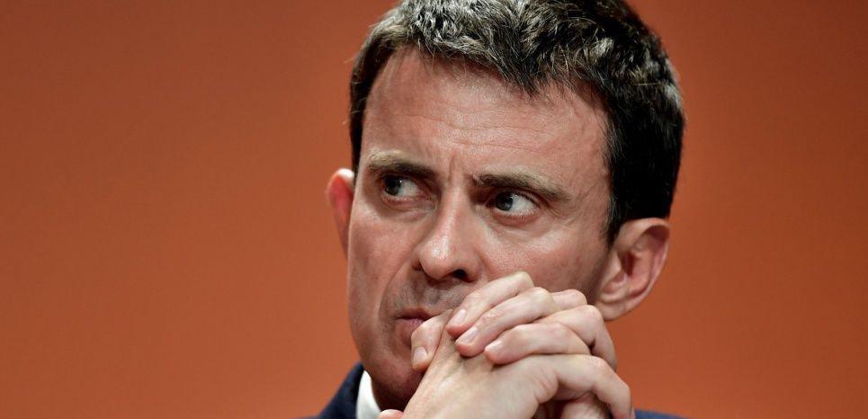 Un homme placé en garde à vue pour avoir importuné Manuel Valls - L'Obs