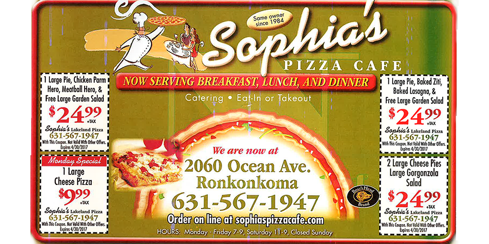 Affordable pizza Ronkonkoma
