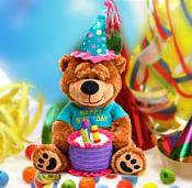 Dazzling Stuffed Animals for Birthday At Giftblooms
