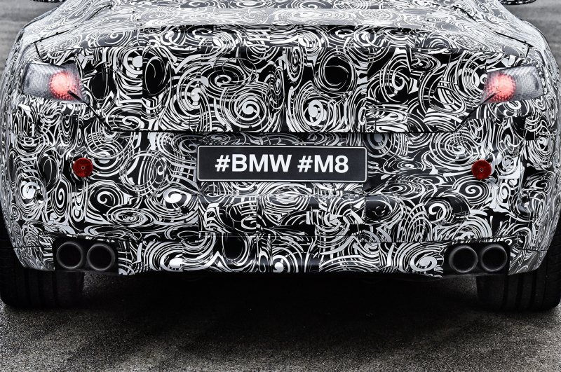 Up close with the new BMW M8