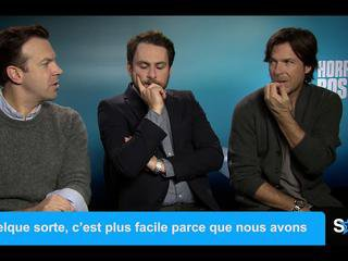 Jason Sudeikis, Charlie Day & Jason Bateman, l'interview - Comment tuer son boss 2 ? - Vidéo Skyrock
