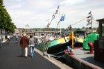 Revue Fluvial The Barge Association Les bateaux de la DBA investissent Namur