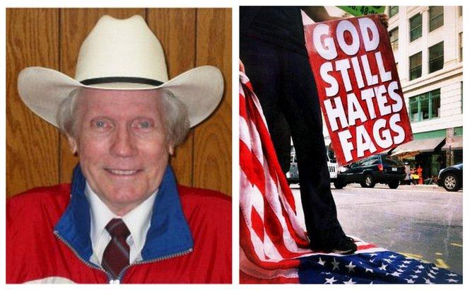 Le pasteur homophobe Fred Phelps est mort