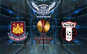 Prediksi West Ham United vs Astra 31 Juli 2015 UEFA Europa L