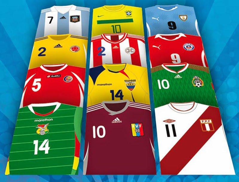 6385c4c857828 Nueva camiseta de México para la Copa América Chile 2015 - All about ...