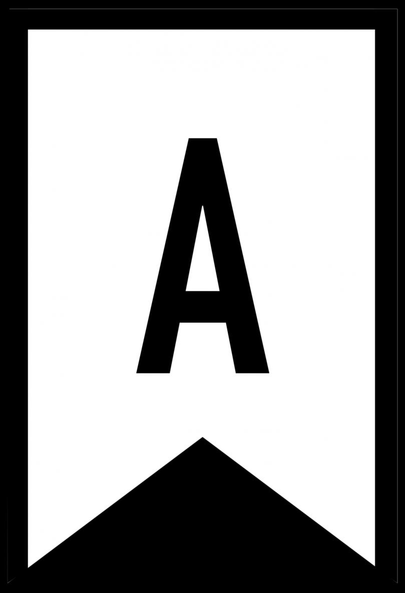 Free Printable ABC Letters Banner Templates | Calendar 2018