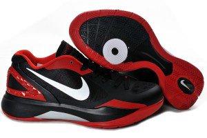 Griffin Halbschuh Weiß Zoom Nike Schwarz Hyperdunk Rot lFT1cKJu3