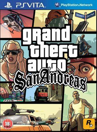 Grand Theft Auto: San Andreas HD PSP-PSVITA VERSION [FULL ...