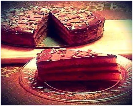 Delicious Foods: Prague Cake Recipe.