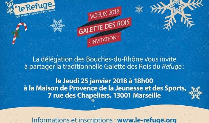 Voeux 2018 - Galette des Rois - Marseille - Gay Marseille