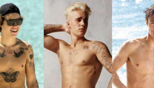 Justin Bieber, Harry Styles, Cameron Dallas TORSE NU... 10 gifs pour préparer l'été ! sur Buzz, insolite et culture