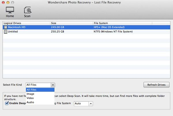 How-to - How to recover lost photo on Mac with Wondershare Photo Recovery for Mac