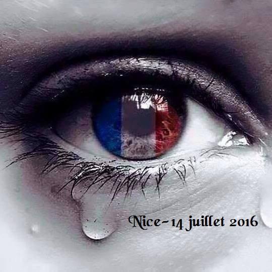 :(:(:( HOMMAGE AUX VICTIMES DE L'ATTENTAT DE NICE DU 14 JUILLET 201...