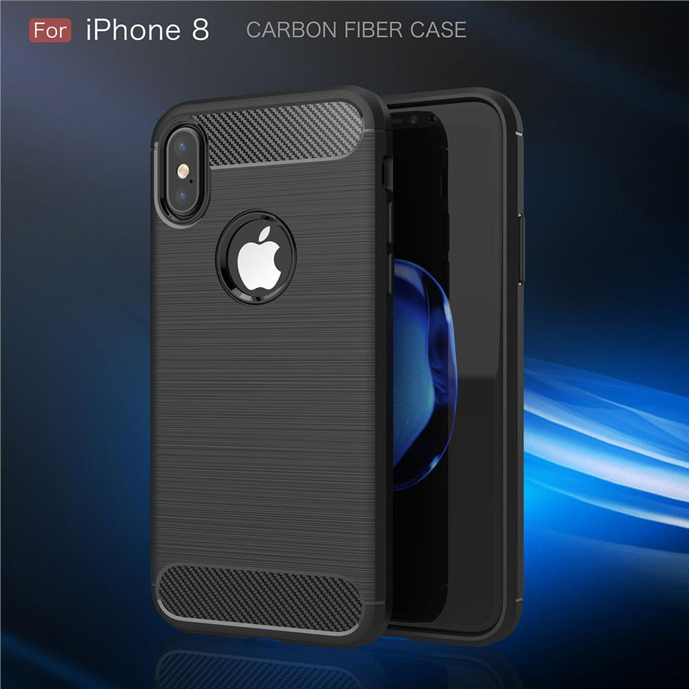 Aliexpress.com : Buy For iPhoneX TPU Case Luxury Carbon Fiber Brushed Wire Drawing Silicone TPU Back Cover for iPhone X FREE SHIPPING from Reliable for iphone suppliers on GUUDS Official Store