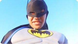 Gotham Needs Me | Batman Breaks Through Roof - YouTube