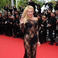 PHOTOS - <p>Tatiana Laurens très transparente au Festival de Cannes, le 21 mai 2014</p>