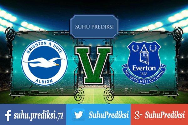 Prediksi Bola Brighton Hove Albion Vs Everton 15 Oktober 2017