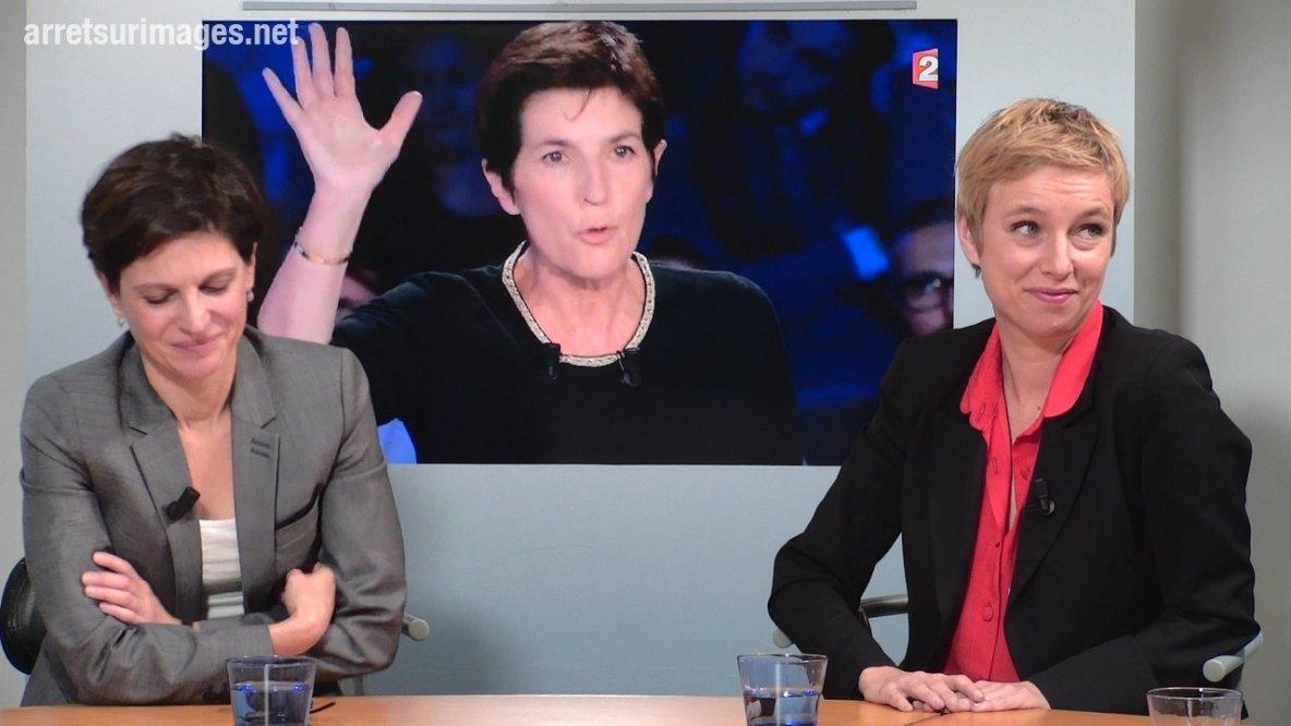 """Angot-Rousseau : """"Les violences faites aux femmes systématiquement traitées comme un spectacle"""" - Arrêt sur images"""