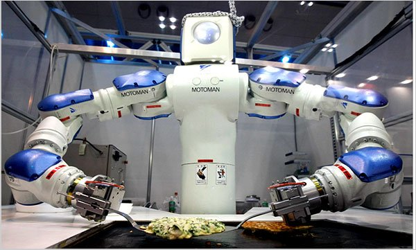 Robots learn how to cook via Youtube videos - Blog