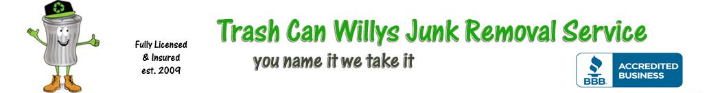 Trash can willys junk removal services