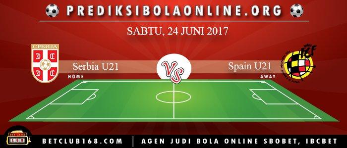 Prediksi Serbia U21 Vs Spain U21 24 Juni 2017