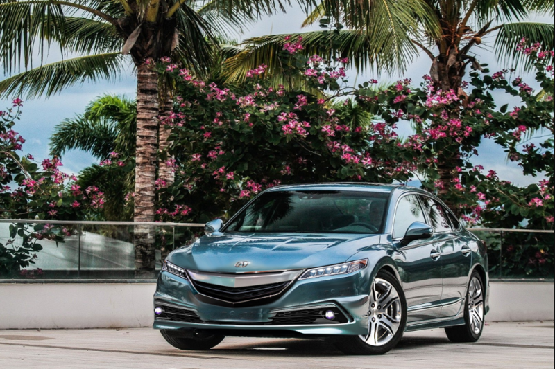 2018 Acura RLX: NSX inspired