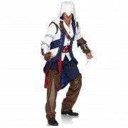 Assassins Creed 3 Jacket | Assassin's Hoodie Coat Connor Kenway Jacket