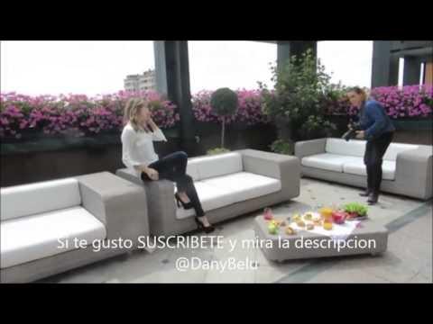 Violetta Back del photoshoot de la revista Paris Match en Milan Italia