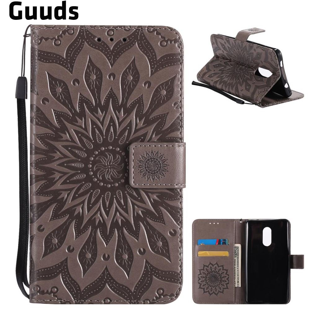 Aliexpress.com : Buy For Xiaomi Redmi Note4 X phone Mi Case Embossing Sunflower Leather Wallet Case for Xiaomi Redmi Note 4X FREE SHIPPING from Reliable leather wallet case suppliers on GUUDS Offic...