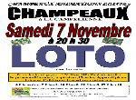 Annonce 'loto du 7 novembre 2015 à champeaux (77720) '