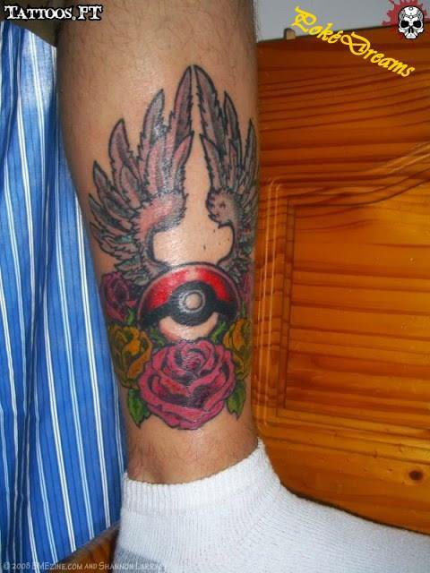 \!/Tatouage Pokémon du jour\!/