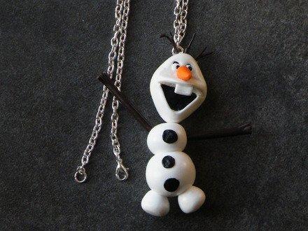 Collier Olaf en fimo
