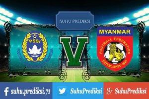 Prediksi Bola Indonesia Vs Myanmar 21 Maret 2017