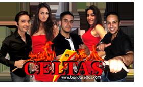 Banda Celtas Bailes Bons com um bom grupo musical