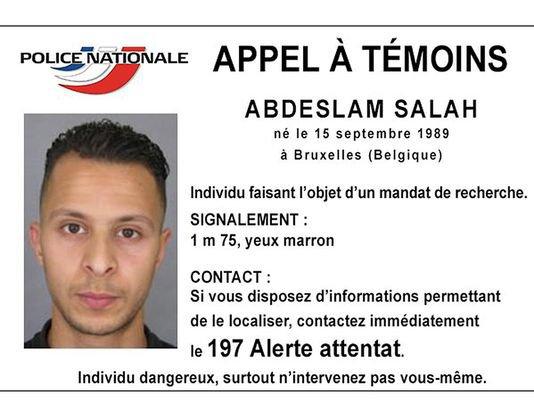 Ce que l'on sait de Salah Abdeslam, en fuite depuis les attentats du 13novembre